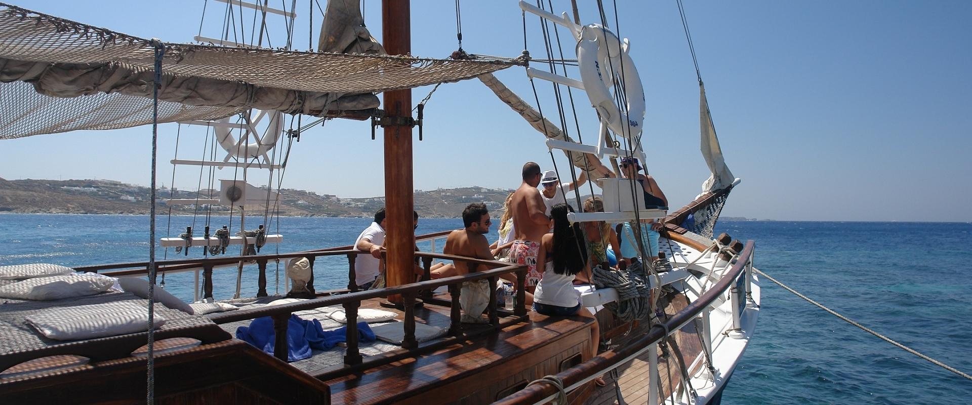 Quarantine of Delos boat