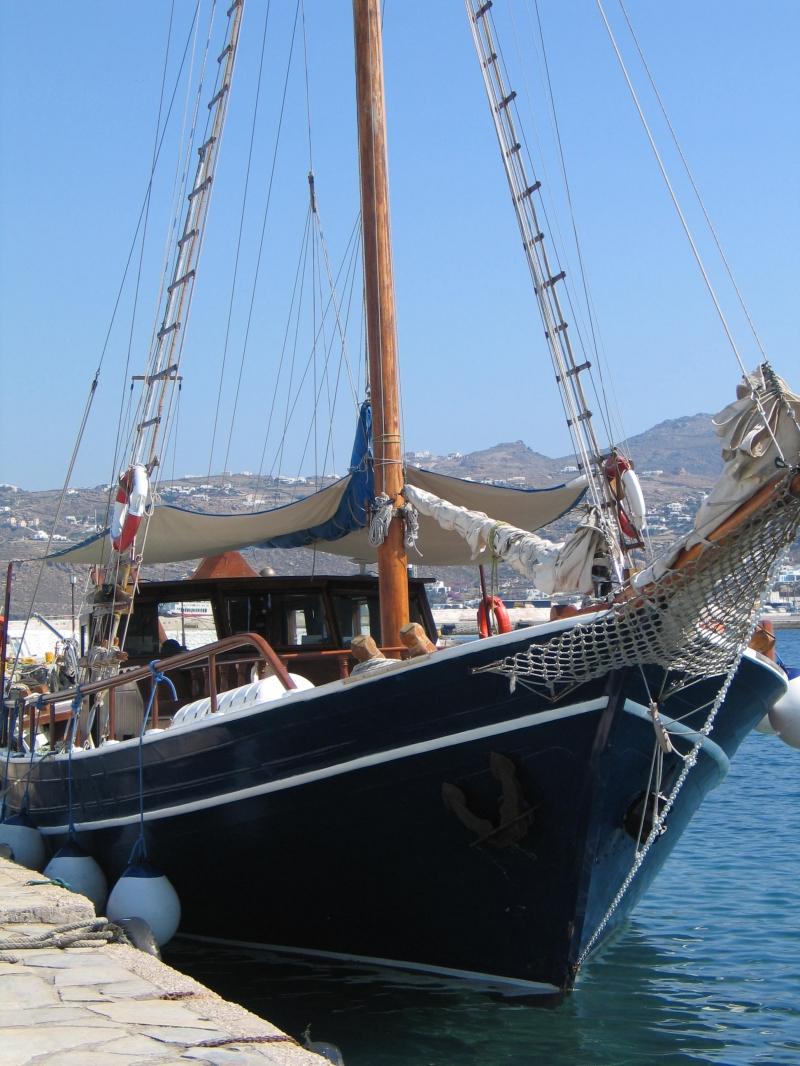 quarantine of delos - mykonos cruise boat
