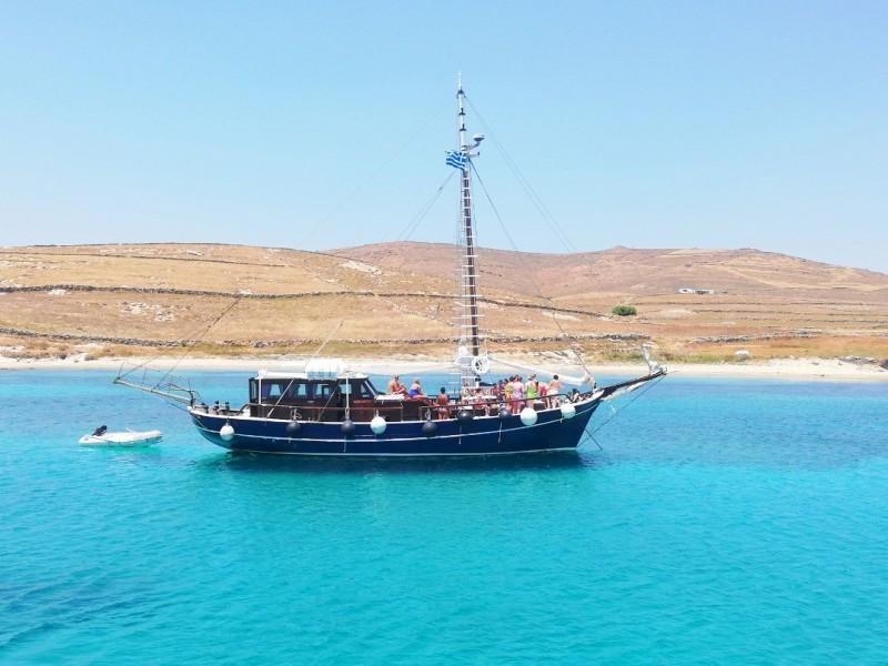 Quarantine of Delos Private Cruise Boat - Aegean Ventures - Mykonos