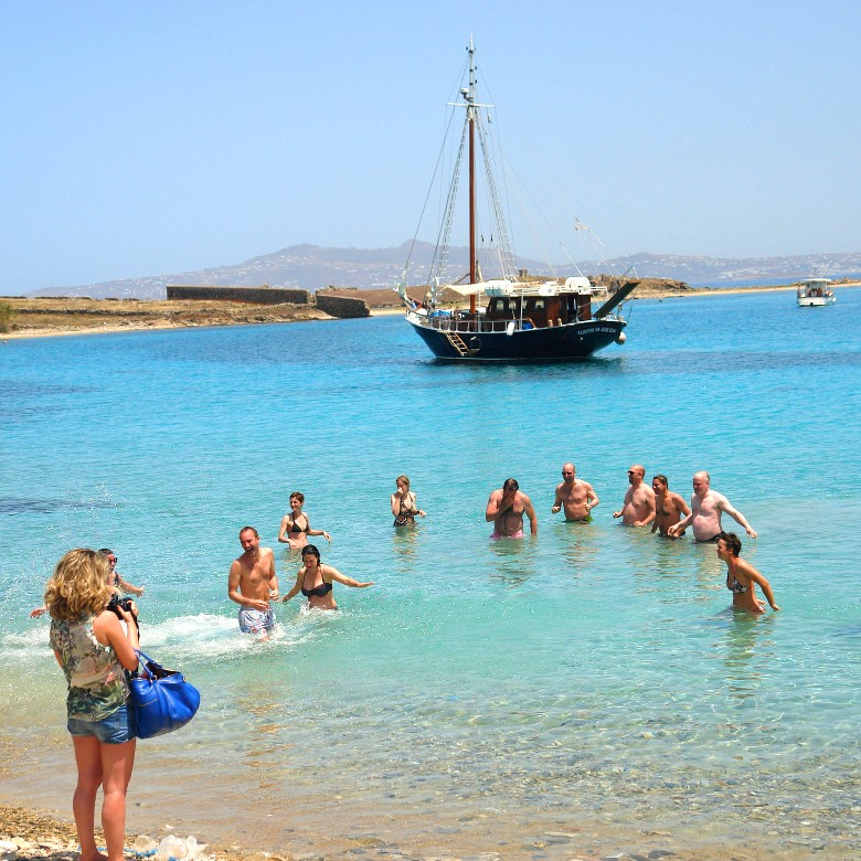 Rhenia - Delos Daily Cruise on shared basis from Mykonos island