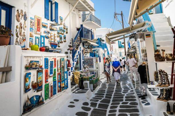 Afternoon Stroll in Mykonos Town